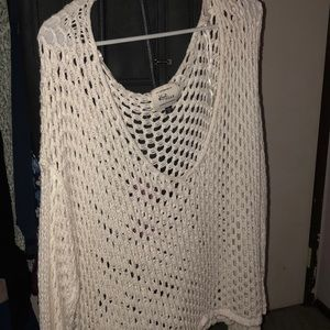 Cotton On : knit cover up for bathing suit